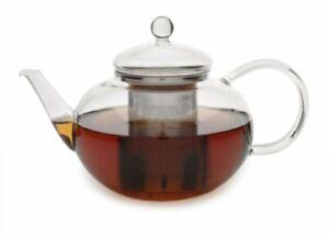 Adagio Tea Glass Teapot and Infuser 42 Oz New