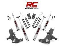 "1988-1998 Chevrolet GMC 1500 2WD 4"" Rough Country Suspension Lift Kit N3 [231N2]"