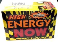 6 BOXES HIGH ENERGY NOW, EACH BOX HAS 24 PKS. TOTAL 144 PKS (432PILLS)