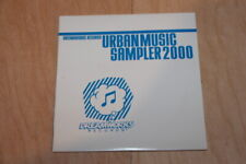 PROMO Sampler - Various ‎– Urban Music Sampler 2000 Dreamworks Records CD