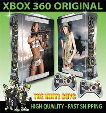 XBOX 360 VECCHIO forma Call of BOOTY ESERCITO Ragazze 01 ADESIVO SKIN e 2 SKIN PER PAD