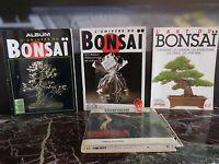 4 revues Arbres miniatures japonais art Bonsaï langue française