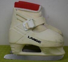 """Lange Figure Ice Skates infant kids 9* strap closing """"Lil Angel"""""""