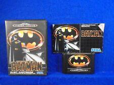 Sega Mega Drive BATMAN Boxed COMPLETE Game PAL