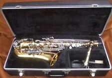 Selmer Co. Bundy II Alto Saxophone w Case In Nice Shape