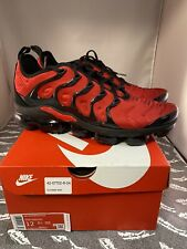 Nike Men's Air Vapormax Plus University Red Black Sz12