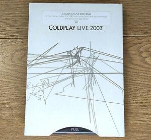 Coldplay - Live 2003 Rare DVD + CD Edition 90 min Concert & 40 min Documentary