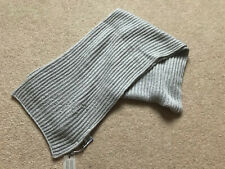 BRAND NEW LAURA ASHLEY LADIES GREY SCARF EMBELLISHED WITH PEARLS - TAGS