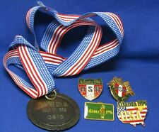 Vintage 1996 Atlanta Olympic Games Numbered Medal July 17, 1996 Lot Of 5