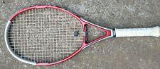 "New listing WILSON Triad 5.0 110   (4 1/4"") Tennis Racquet Racket"