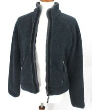 American Eagle Outfitters Fleece Jacket Womens M Blue Gray Zip up Cozy