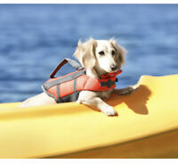Barely Used - TOP PAW - Reflective Dog Life Jacket Size Small Read Description