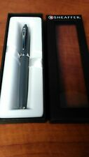 Sheaffer 100 Fountain Pen Matte Gray F nib