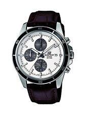 Relojes de pulsera Casio Edifice de piel acero inoxidable