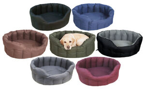 Country Dog Superior Heavy Duty Waterproof Oval Beds from Pets & Leisure