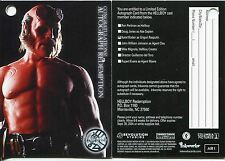 Hellboy The Movie Autograph Redemption Card AR1 [A3] Redeemed [Clean]