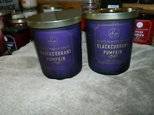 Lot of 2 DW Home Candle BackCurrent & Pumpkin 15.865  x 2  NEW