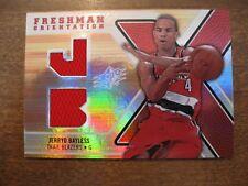 2008/09 SPx Jerryd Bayless Freshman Orientation Rookie Jersey FO-JB Trailblazers