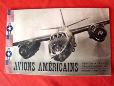 avions Américains fascicule 1 (photos, plans, caractéristiques) (1945)