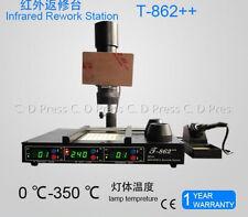 New Infrared Heating Rework Station Bga Irda-Welder T-862++ 110V/220V