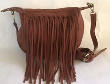 NEW WITHOUT TAGS SHIRALEAH FRINGE SHOULDER BAG/PURSE CROSSBODY