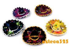 Set of 5 Mexican mini Charro Hats,Party favors,Decorations,Sombreros,MARIACHI