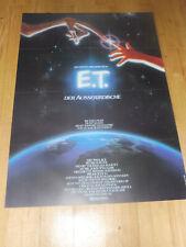 E.T. - DER AUSSERIRDISCHE - Kinoplakat A1 ´82 - STEVEN SPIELBERG Drew Barrymore