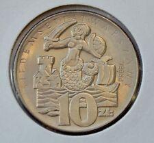 10 zlotych 1965, Mermaid, 700 Years od Warsaw, Pattern Coin, Proba, v2
