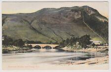 Ayrshire postcard - Rannoch Bridge and Craig-Var