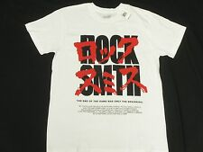 $30 NWT NEW Mens Rocksmith T-Shirt Akira OG Tee White Urban Print Size S N383