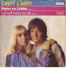 """""""7"""" - CINDY & BERT - Nenn es Liebe - RAR !!!"""