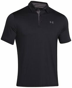 Under Armour, 1253479-001, Playoff Polo, Black