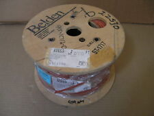 100 ft. Belden 83653 RED SHIELD PLENUM 18 AWG Cable Wire 3C TEFLON