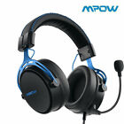 Mpow Air SE 3D Gaming Headset In-Line Control Memory Earpads Mic 3D Surround UK
