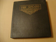 "LIGHT OPERA COMPANY -THE MIKADO in 12 parts/6x 10"" -1931 COLUMBIA DB 321-326 *NM"