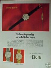 1966 Elgin Mens Wristwatches/Watches/Watc h Print Ad