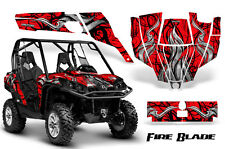 CAN-AM COMMANDER 800R 800XT 1000 1000XT 1000X GRAPHICS KIT DECALS STICKERS FBBR