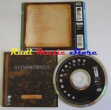 CD ASYMMETRIQUE NIVOLA 2004 DDQ DISCHI DELLA QUERCIA JAZZ NO lp mc dvd (Xs1)