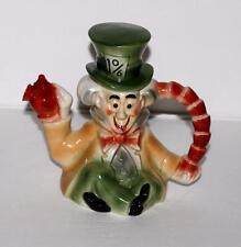 "NM! DISNEY c1951 ""MAD HATTER""BEAUTIFULLY PAINTED WITH GLAZED FINISH CHINA TEAPOT"