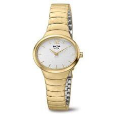 Boccia verguld titanium horloge ovaal 3280-02