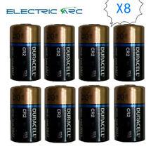 8x Duracell CR2 DLCR2 ELCR2 3V Ultra Lithium Batteries EXP2027