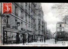 PARIS (XVI°) BUREAU POSTE N°100 , A. GRAFF CHIRURGIEN DENTISTE & COMMERCES 1911
