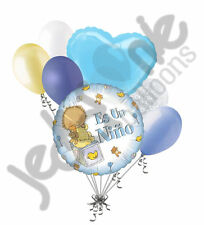 7 pc Es Un Nino Balloon Bouquet Baby Shower Its a Boy Welcome Home Party Decor