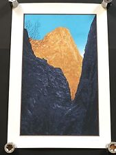 DAN MCCARTHY Golden Valley - seven colour screen print ART signed