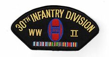 30th Infantry Division WWII Black Hat Patch