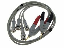 Hq Lcr Meter Cable w/ 4 Bnc Connectors kelvin clip Smd