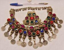 vintage Bedouins nomad tribal moon amulet breastplate renaissance festival 45964