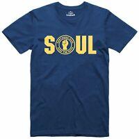 Northern Soul - Soul Logo Music Mens Regular Fit Cotton T-Shirt