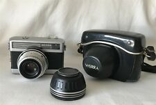 Vintage Werra 1 Camera Carl Zeiss Jena Tessar 2,8/50 + & Leather Case