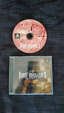 Front Mission 3 Sony PlayStation 1 NTSC-J Japan version